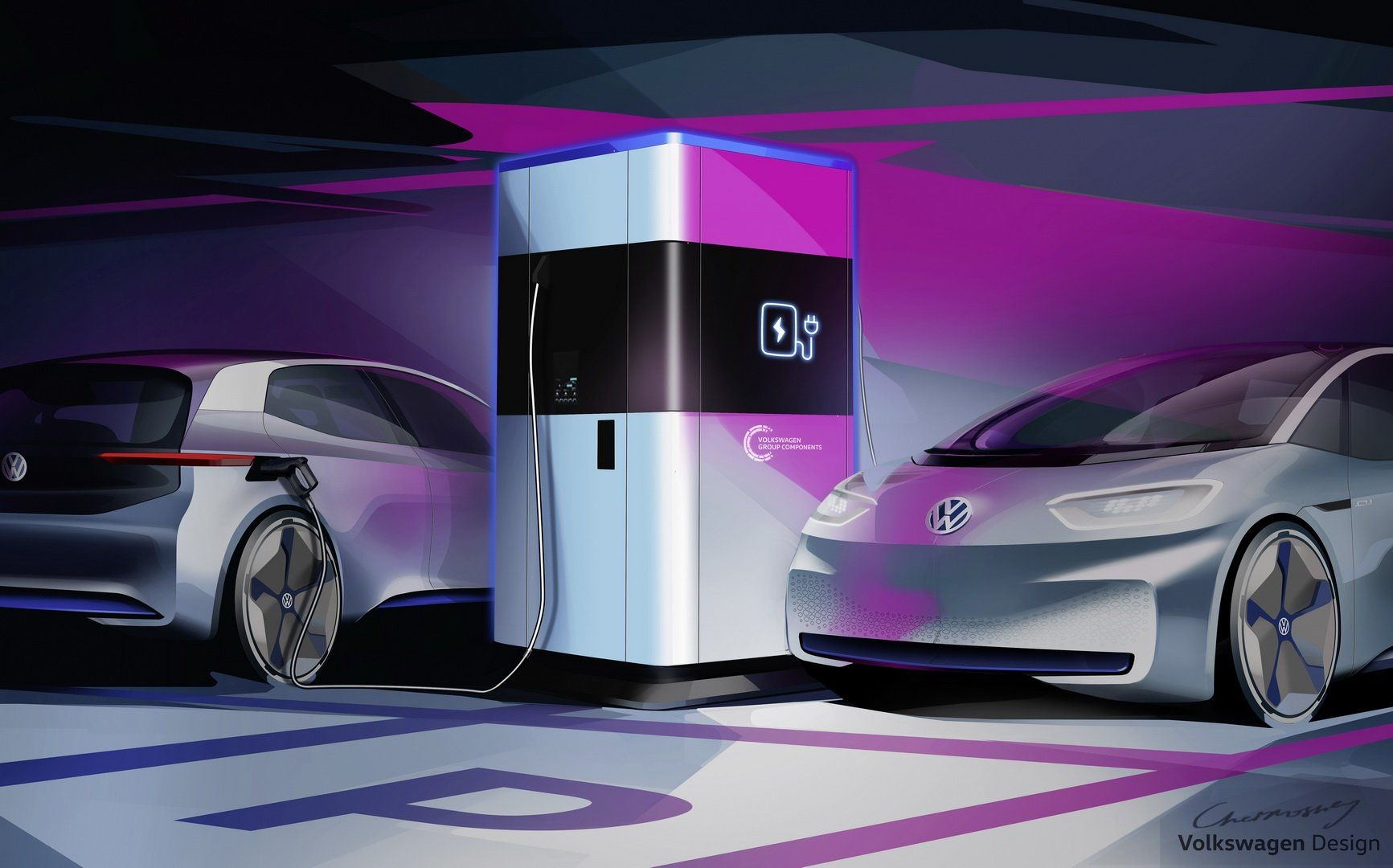 Volkswagen Power Banks For EVs Introduced