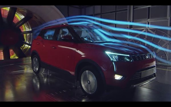 Mahindra XUV300 Tested In Wind Tunnel In Italy