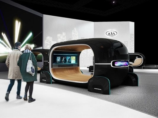 Kia Previewing New Tech At CES 2019