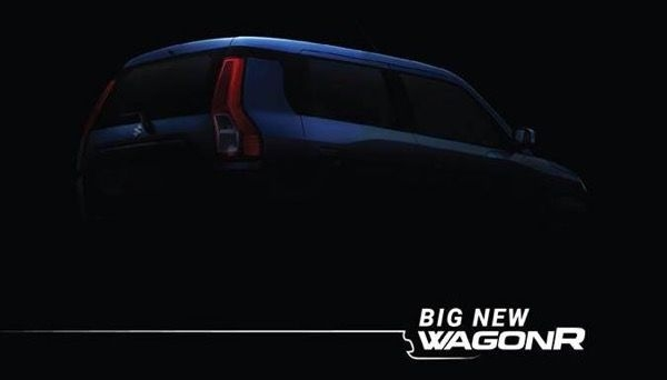 2019 Maruti Wagon R Teased, To Launch On 23rd January