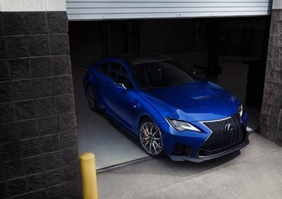 2020 Lexus RC F Launch