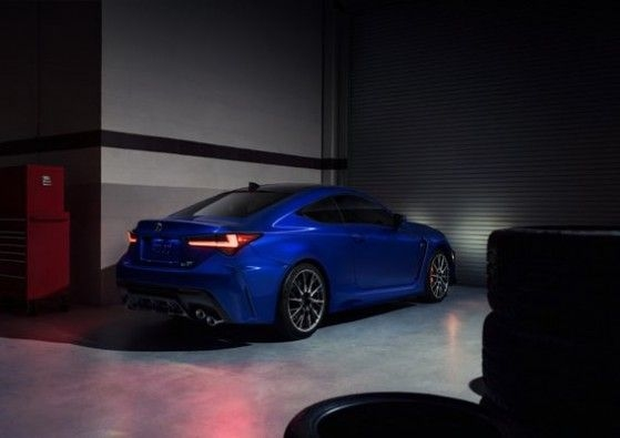 2020 Lexus RC F Rear