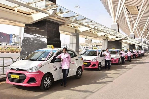 Pink Cab Service Driven By Female Drivers Introduced in Benagaluru