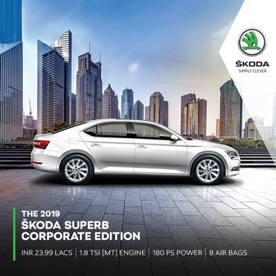 2019 Skoda Superb Corporate Edition Launched