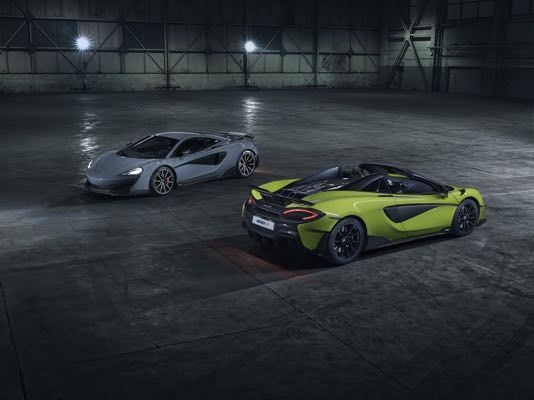 McLaren 600LT Spider Revealed, Produces 600 PS