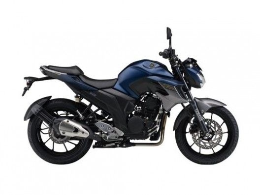 FZ 25 Dark matt blue