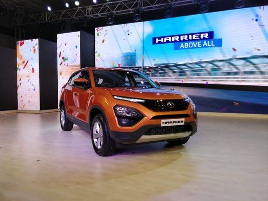 Tata Harrier Launched, Priced From Rs. 12.69 Lakhs