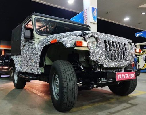 2020 Mahindra Thar Spied Testing, To Get Bigger In Dimensions