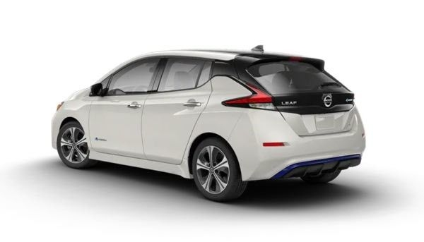 2019 Nissan Leaf EV Rear