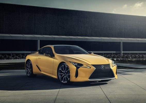 Lexus LC 500 Inspiration Edition Revealed