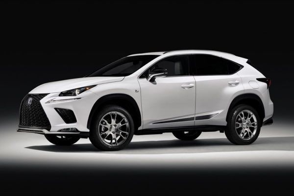 Lexus NX F-Sport Black Line Special Edition Revealed
