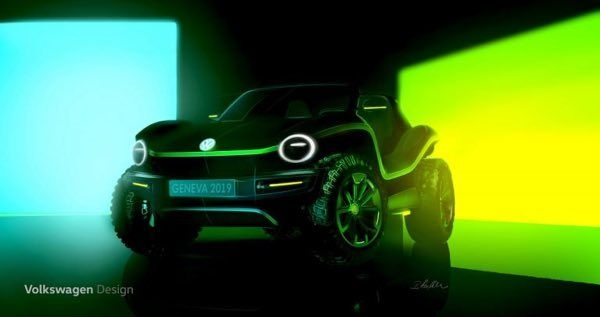 New Volkswagen Dune Buggy Concept Teased