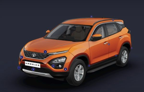 Tata Harrier Online Configurator Lets You Build Your Own Harrier