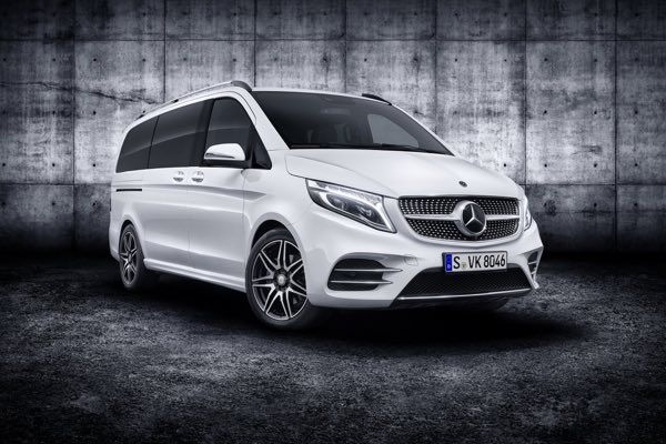 2020 Mercedes V-Class Facelift Revealed