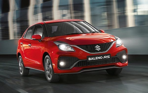 2019 Maruti Baleno RS Facelift Launched, Priced At Rs. 8.76 Lakhs