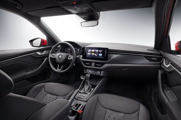 Skoda Kamiq Compact SUV Interior Revealed