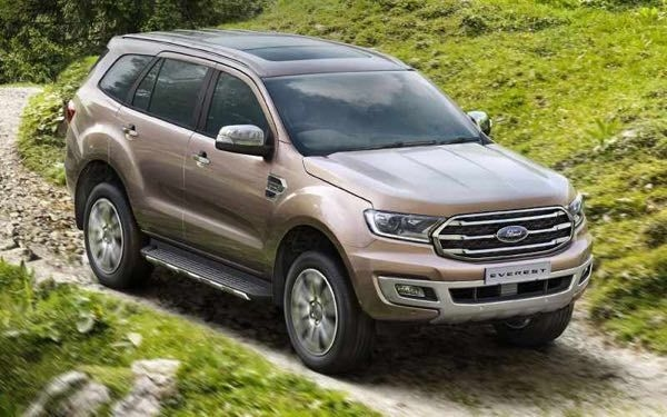 Ford Endeavour Facelift Bookings Open In India