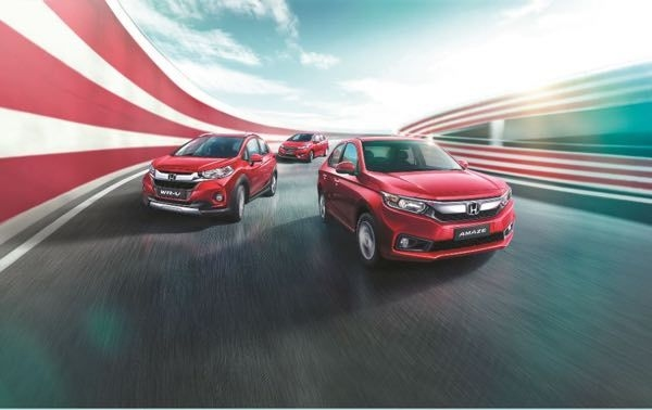 Honda Exclusive Edition Amaze, WR-V & Jazz Launched