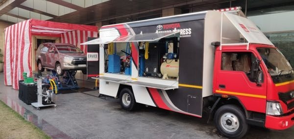 Toyota Service Express Launched For Doorstep Car Service