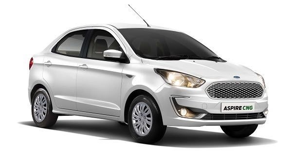 Ford Aspire CNG Launched, Priced From Rs. 6.27 Lakhs