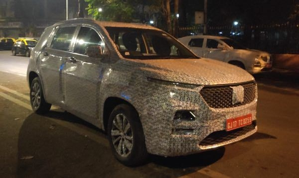 MG Hector SUV Spied, India Launch By June