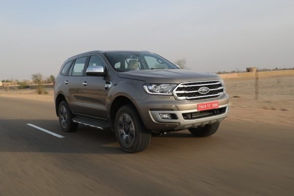2019 Ford Endeavour Officially Revealed