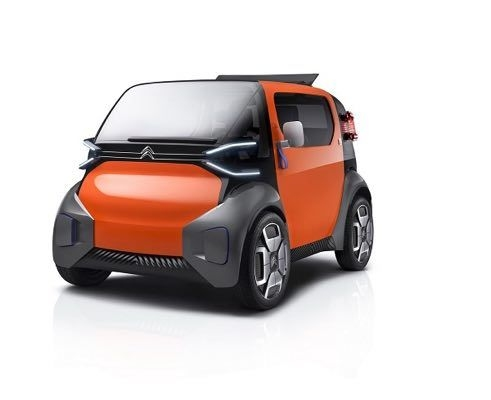 Citroen Ami One Concept Revealed