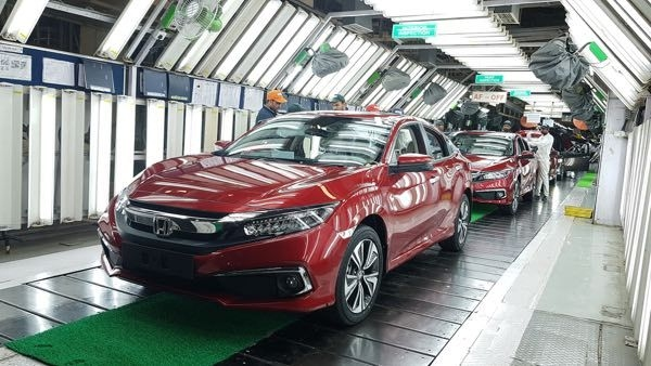 2019 Honda Civic Production Commenced In India