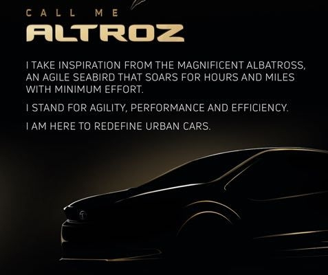 Tata Altroz Name Officially Confirmed For 45X Concept