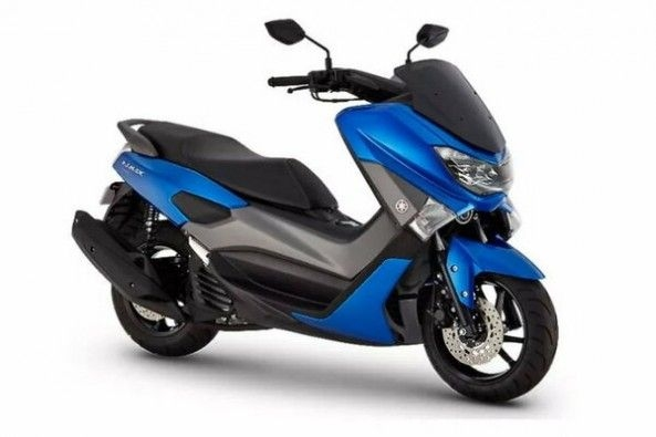 Yamaha NMax Side Profile