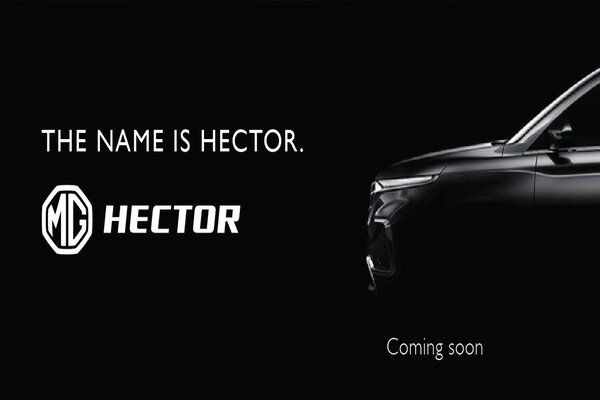MG Hector Spotted Without Camouflage During TVC Shoot