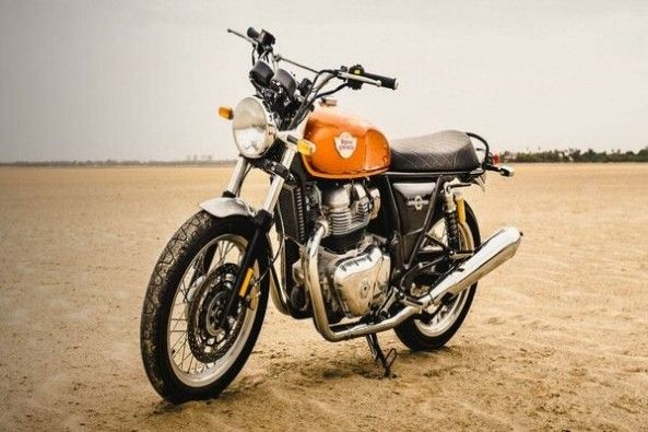 Royal Enfield Interceptor 650 Front Profile