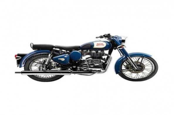 Royal Enfield Classic Side Profile