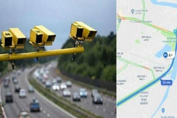 Yellow COlor Speed Cameras