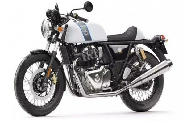 Royal Enfield Continental GT Side Profile