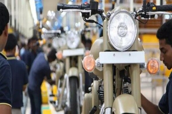 Royal Enfield Front Profile