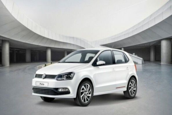 White Color Volkwagen Polo FronT Profile