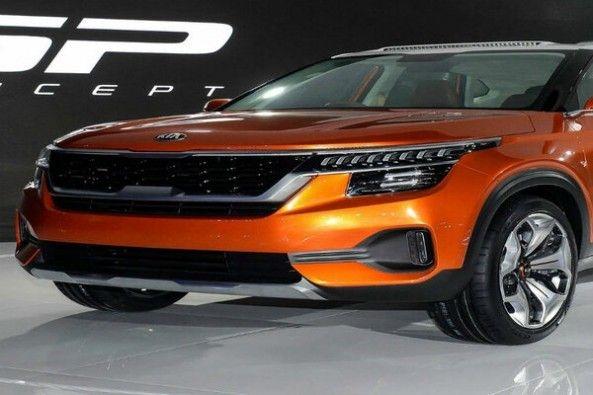 Kia SP Concept SUV Side Profile