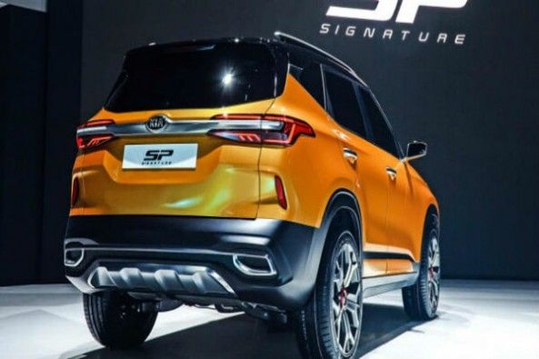 Kia SP Concept Signature SUV Rear Profile