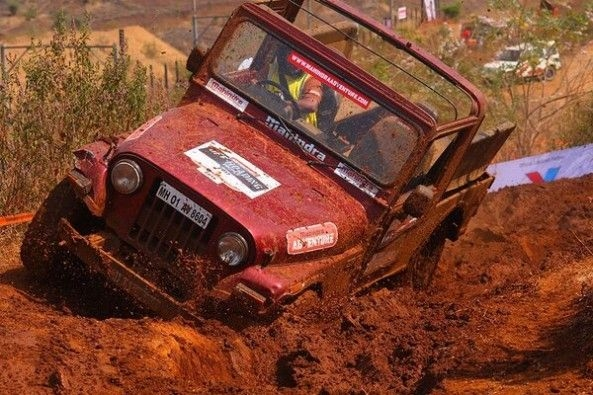Mahindra Thar Off-Roading