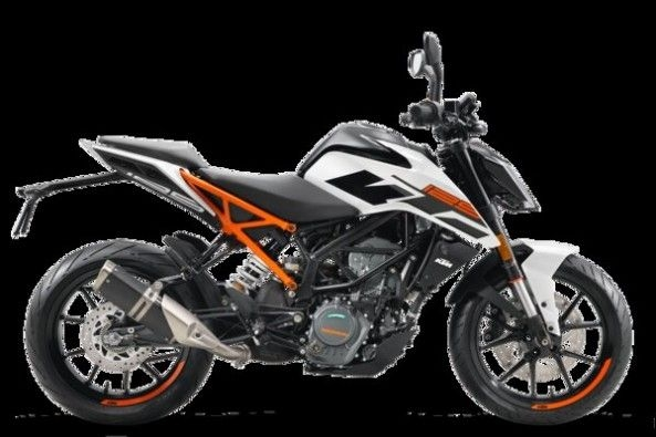 KTM Duke 125 Side Profile