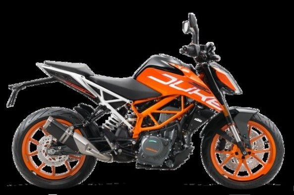KTM Duke 390 Side Profile