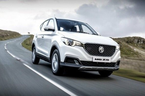 MG eZS Electric SUV Front Profile