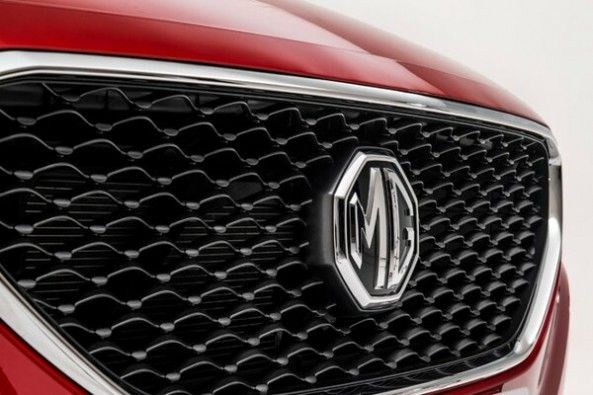 MG eZS Electric SUV Grille