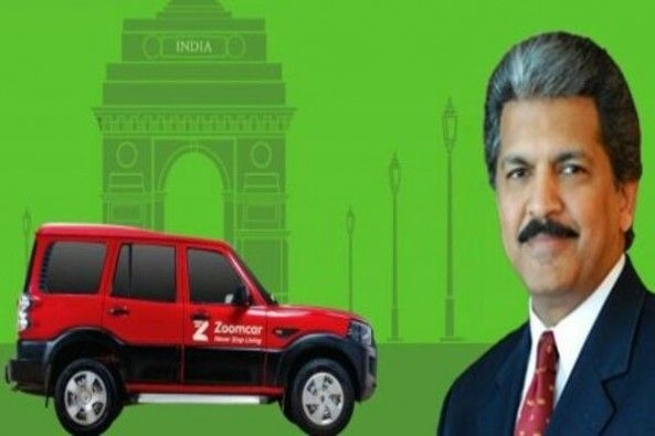 Anand Mahindra WIth Red Color ZoomCar
