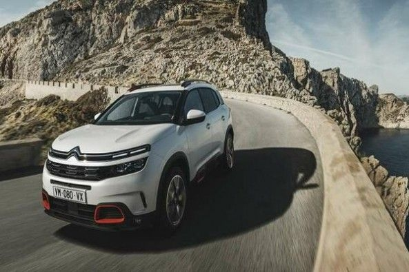 Citroen C5 Aircross Front Profile