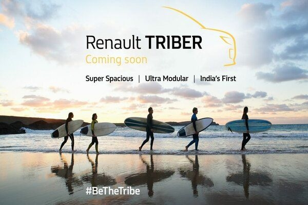 Renault Triber Teaser is Out and Reveals a Lot About Upcoming MPV
