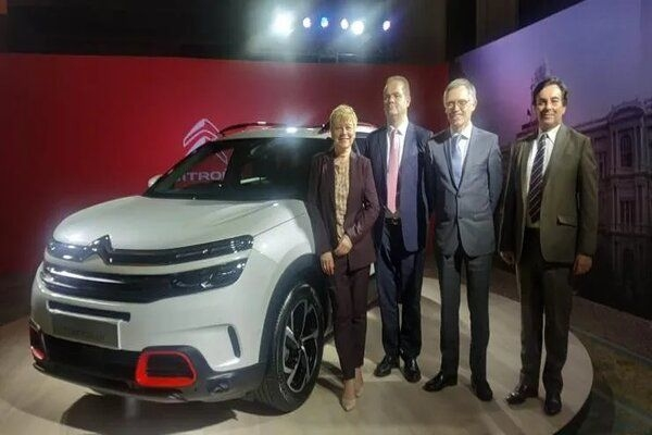 Upcoming Harrier Rival Citroen C5 Aircross Displayed in Pics