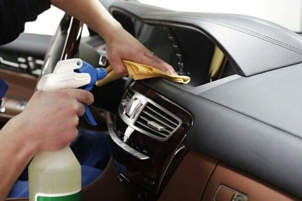 Cleaning Interiors of Car