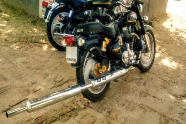 Royal Enfield Modified Exhaust
